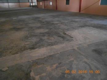 After clean floor