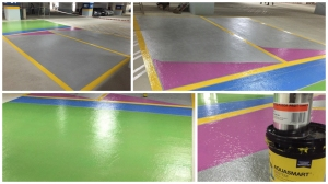 Car Deck coatings with D2K