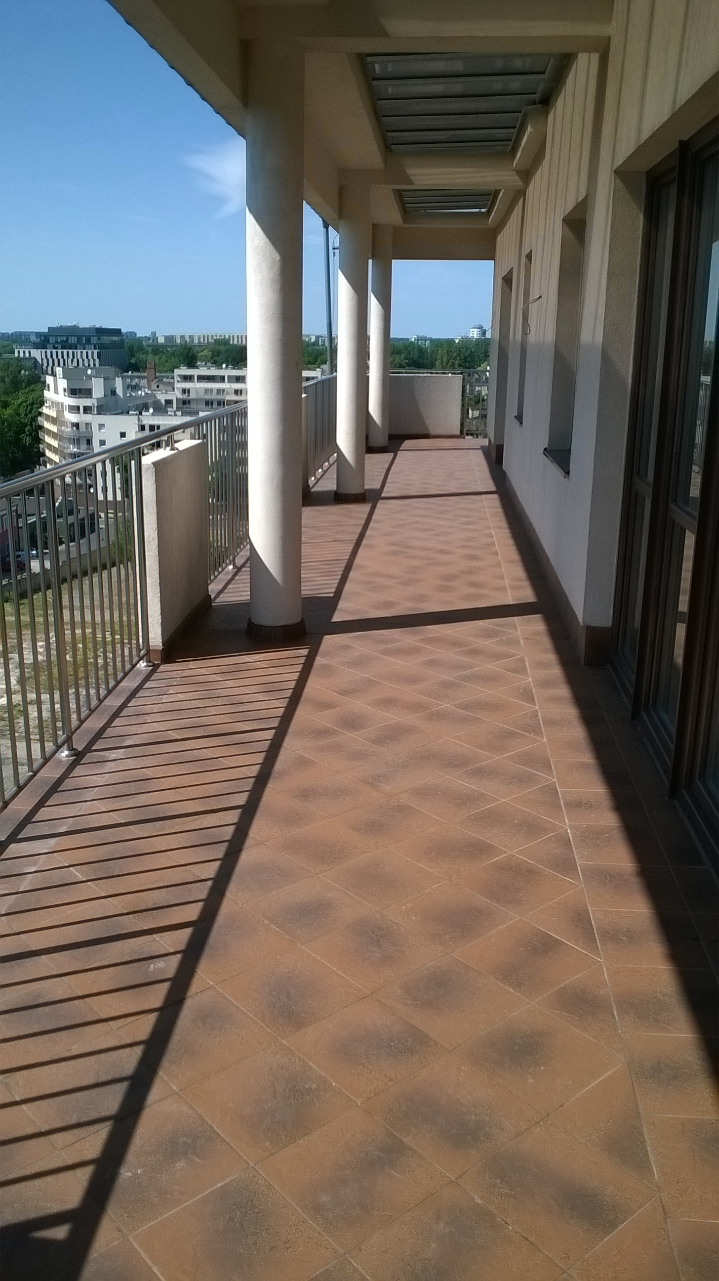 Balcony Over Tiles Waterproofing Poland Alchimica